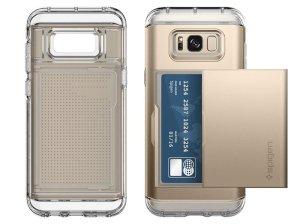 قاب محافظ اسپیگن سامسونگ Spigen Crystal Wallet Case Samsung Galaxy S8 Plus