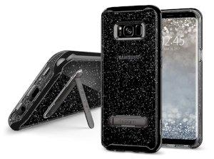 قاب محافظ اسپیگن سامسونگ Spigen Crystal Hybrid Glitter Case Samsung Galaxy S8 Plus