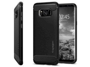 محافظ ژله ای اسپیگن سامسونگ Spigen Rugged Armor Case Samsung Galaxy S8 Plus