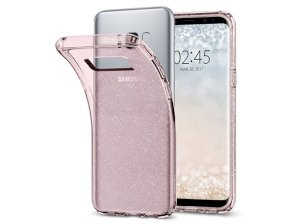 محافظ ژله ای اسپیگن سامسونگ Spigen Liquid Crystal Glitter Case Samsung Galaxy S8 Plus