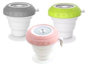 اسپیکر بلوتوث راک RockSpace Pocket Party Light Show Bluetooth Speaker