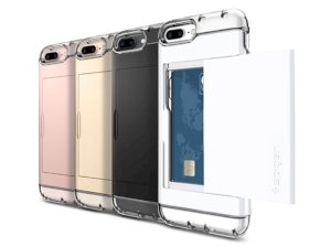 قاب محافظ اسپیگن آیفون Spigen Crystal Wallet Case Apple iPhone 7 Plus/8 Plus