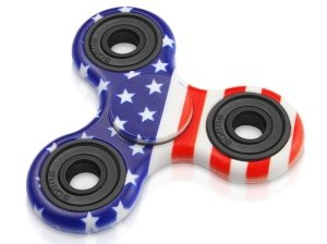 اسپینر فلزی طرح آمریکا Fidget Spinner American