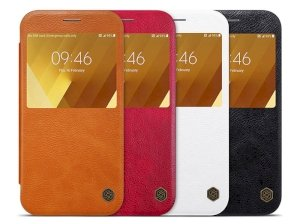کیف چرمی نیلکین سامسونگ Nillkin Qin Leather Case Samsung Galaxy A7 2017