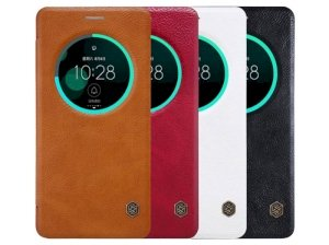 کیف چرمی نیلکین ایسوس Nillkin Qin Leather Case Asus Zenfone 3 Deluxe ZS570KL