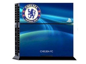کاور اسکین کنسول بازی پلی استیشن 4 طرح چلسی PS4 Skin FC Chelsea