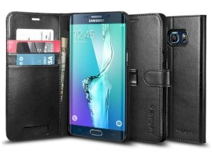 کیف اسپیگن سامسونگ Spigen Wallet S Case Samsung Galaxy S6 Edge