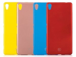 محافظ ژله ای سیلیکونی سونی TT Sborn TPU Case Sony Xperia XA Ultra
