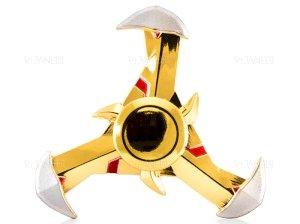 اسپینر فلزی سه پره ای طرح شوریکن 11 Fidget Spinner Metal Shuriken