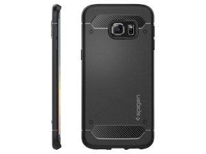 محافظ ژله ای اسپیگن سامسونگ Spigen Rugged Capsule Case Samsung S6 Edge Plus