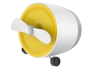 اسپیکر بلوتوث فن دار راک Rock Mini Bluetooth Speaker With Fan