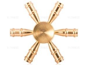 اسپینر فلزی شش پره ای طرح بطری Fidget Spinner Metal Bottle