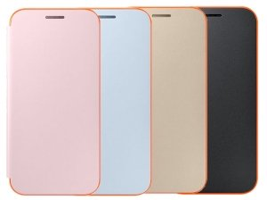 کیف اصلی سامسونگ Samsung A3 2017 Neon Flip Cover
