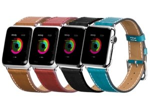 بند چرمی اپل واچ هوکو Hoco Apple Watch Optimal Series Leather Starp 42mm