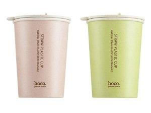ماگ دو لایه فیبر گندم هوکو Hoco CP4 Dual-layer Wheat Smell Mug Cup