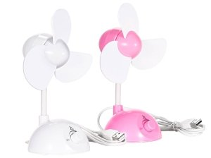 پنکه رومیزی هوکو Hoco F1 USB Mini Desktop Fan