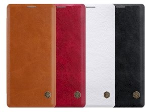 کیف چرمی نیلکین سامسونگ Nillkin Qin Leather Case Samsung Galaxy Note 8