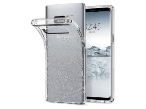 قاب محافظ اسپیگن سامسونگ Spigen Liquid Crystal Shine Case Samsung Note 8