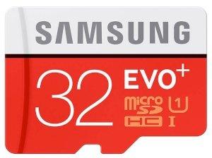 کارت حافظه میکرو اسدی سامسونگ Samsung EVO Plus micro sdhc Memory Card 32GB
