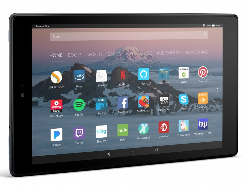 آمازون و معرفی تبلت جدید Fire HD 10 با کیفیت نمایشگر بالاتر و حافظهی دوبرابر