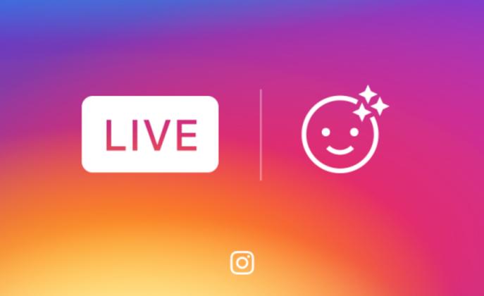 اینستاگرام و اضافه کردن فیلترهای چهره به پخش ویدیوهای زندهاش