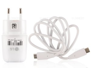 شارژر اصلی ال جی LG Travel Charger Adapter MCS-N04WD Type C