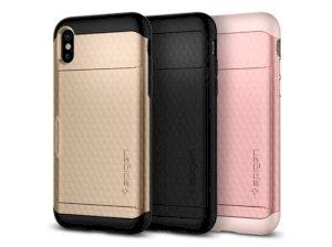 قاب محافظ اسپیگن آیفون Spigen Crystal Wallet Case Apple iPhone X