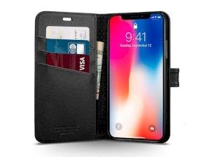 کیف محافظ اسپیگن آیفون Spigen Wallet S Case Apple iPhone X