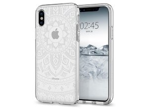قاب محافظ اسپیگن آیفون Spigen Liquid Crystal Shine Case Apple iPhone X