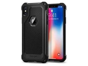 محافظ ژله ای اسپیگن آیفون Spigen Rugged Armor Extra Case Apple iPhone X