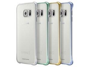 قاب محافظ شیشه ای اصلی سامسونگ Samsung Clear Cover S6 edge