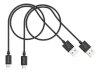 کابل شارژ و انتقال داده میکرو یو اس بی کنکس Kanex Micro USB Cable 0.5m 2-Pack