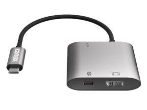 مبدل شارژر چند منظوره کنکس Kanex USB-C Multimedia Charging Adapter