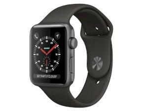 اپل واچ سری 3 مدل Apple Watch 42mm GPS Space Gray Aluminum Case Gray Sport Band