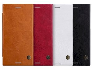 کیف چرمی نیلکین سونی Nillkin Qin Leather Case Sony Xperia XZ1