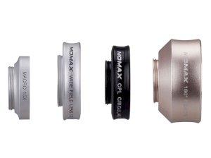 لنز فیش آی و واید و ماکرو و سی پی ال گوشی موبایل مومکس Momax 4 in 1 Superior Lens Set