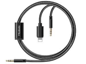 کابل صدا لایتنینگ Mcdodo 2-in-1 Audio Cable