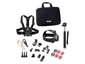 ست دوربین ورزشی رولی Rollei Actioncam Accessory Set Outdoor