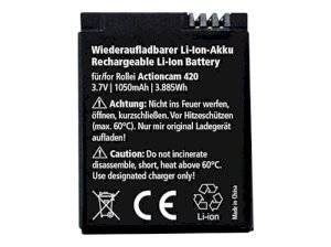 باتری قابل شارژ دوربین ورزشی رولی Rollei Akku Actioncam 420