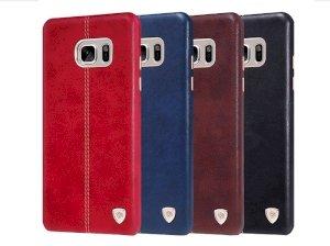 قاب محافظ چرمی نیلکین سامسونگ Nillkin Englon Samsung Galaxy Note FE