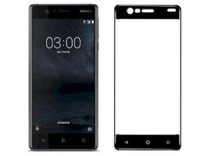 محافظ صفحه نمایش شیشه ای تمام صفحه نوکیا Lanbi 3D Glass Nokia 3