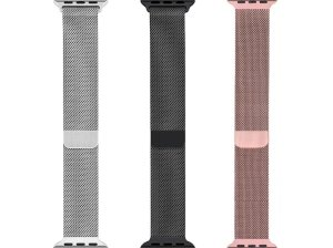 بند فلزی اپل واچ Apple Watch Milanese Loop Band 38mm