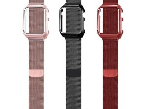 بند فلزی و کیس اپل واچ Apple Watch Milanese Loop Band With Case 42mm