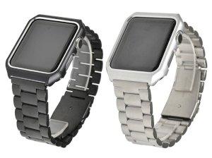 بند فلزی و کیس اپل واچ Apple Watch 3 Pointers Band With Case 42mm