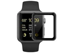 محافظ صفحه نمایش شیشه ای اپل واچ Coteetci 4D Glass Apple Watch 42mm