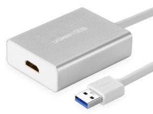 مبدل یو اس بی به اچ دی ام آی یوگرین Ugreen 40229 USB 3.0 to HDMI Converter