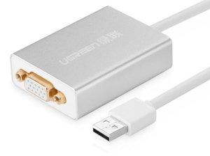 مبدل یو اس بی به وی جی ای یوگرین Ugreen 40244 USB 2.0 to VGA Converter