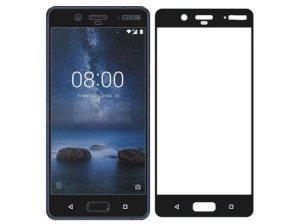 محافظ صفحه نمایش شیشه ای تمام صفحه نوکیا Glass Full Cover Nokia 8