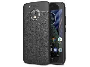 قاب ژله ای طرح چرم موتورولا Auto Focus Jelly Case Motorola Moto G5 Plus