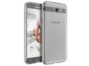 محافظ شیشه ای - ژله ای سامسونگ Samsung Galaxy J7 V Transparent Cover